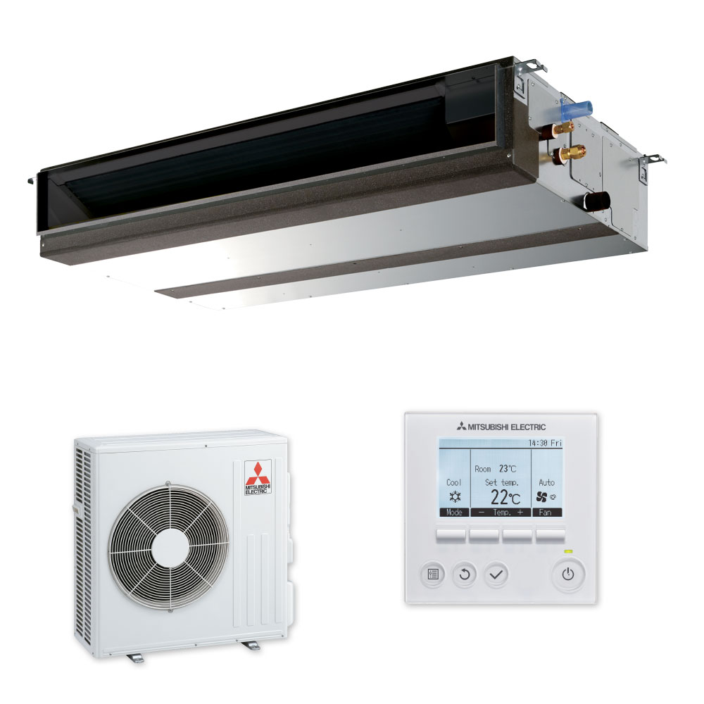 Mitsubishi ducted air conditioning PEAD-RP71JAA (8.0Kw Heat) Image